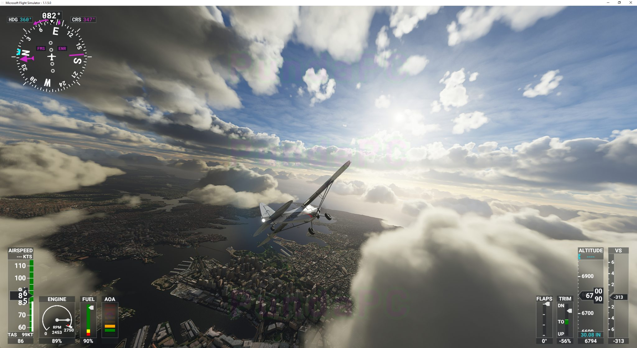 SIMULATOR - Microsoft Flight Simulator. - Página 9 Through-the-clouds-2048x1120