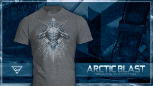 New Arctic Blast T-Shirt from Eighty Sixed Clothing