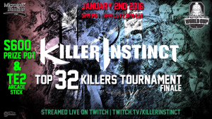 Final Top 32 Killers Tournament of 2015 this Saturday