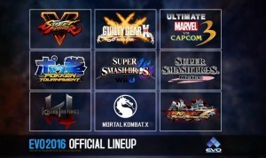 EVO 2016 Announcement Lineup