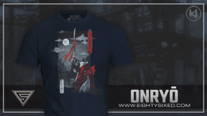 New T-Shirt from Eighty Sixed: Onryo