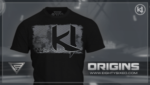 """Origins"" T-Shirt Available from Eighty Sixed"