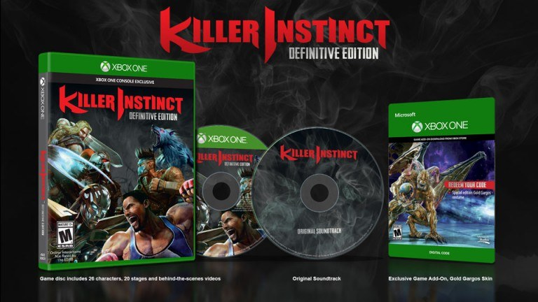 killer instinct 3 ultra edition xbox one retail box