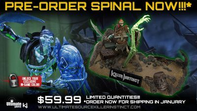 KILLER INSTINCT SPINAL DELUXE SET