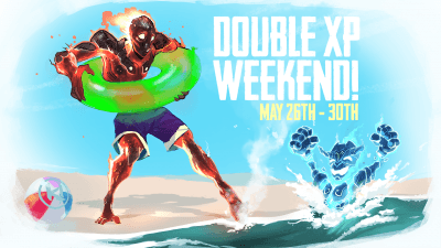 Double XP Weekend May 26th-30th