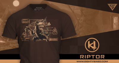 Introducing the Riptor Shirt from Eighty Sixed!